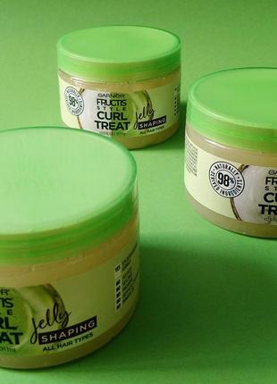 Garnier fructis style curl treat shaping jelly желе для укладки