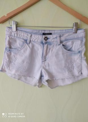 Джинсові шорти, короткие шорти, размер 34/36