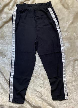 Лёгкие  брюки высокая посадка вискоза