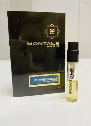 Montale - chypre vanille.
