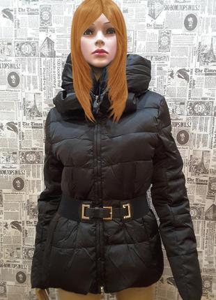 Экстрамодная, супертёплая пуховик  куртка monte bianco,италия , uk 10, наш 44