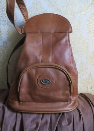 Стильный рюкзак с натуральной кожи (.американский бренд levis .,оригинал)