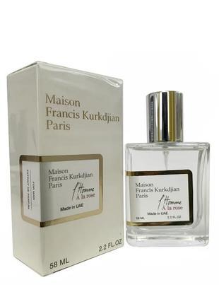 Maison francis kurkdjian l`homme a la rose, мужской, 58 мл1 фото