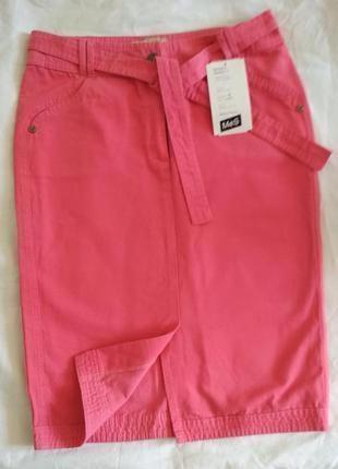 Нова котонова юбка спідниця mes, виробник польща 36р