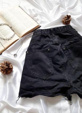 Знижка останній день 🔥тренд сезону🔥круті джинсові шорти на високій посадці з рванностями boohho5 фото