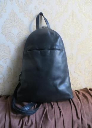 Кожаный рюкзак marks  spencr (оригинал )