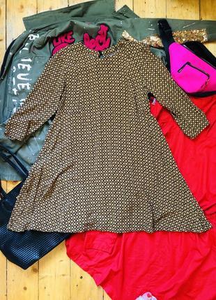 Легкое летнее платье рубашка