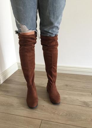 Сапоги высокие ботфорты деми чулок ботильоны челси сапоги ботинки деми брендовые оригинал чулок деми