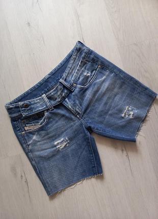 Джинсовые короткие шорты италия