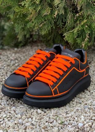 Alexander mcqueen oversized оранжевые