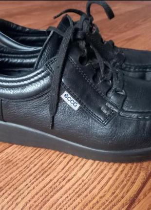 Кожаные туфли мокасины ботинки2 фото