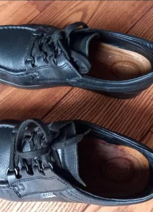 Кожаные туфли мокасины ботинки3 фото