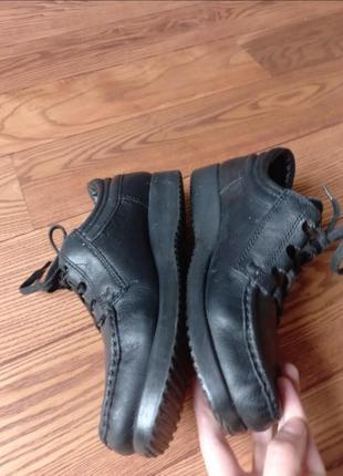Кожаные туфли мокасины ботинки5 фото