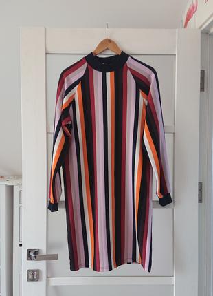 Полосатое платье vovk
