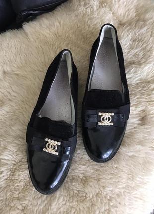 Стильные туфли балетки лоферы на низком ходу каблуке скидки недорого модные