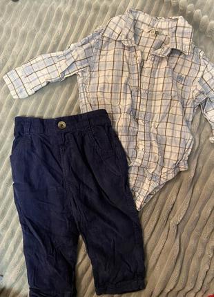 Рубашка сорочка боді і штани