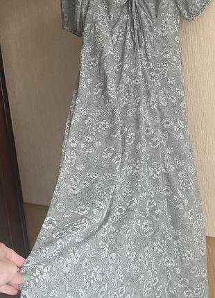Сарафан платье волан кроп