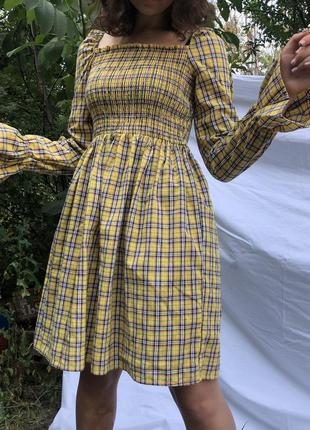 Платье в клеточку от boohoo