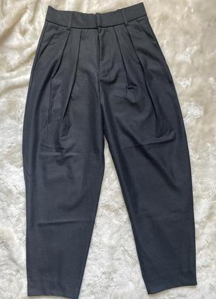 Стильные брюки слоучи бананы zara