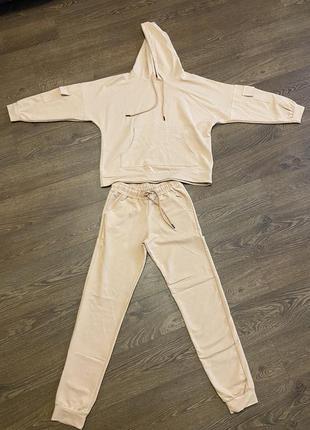Спортивний костюм худі і джогери, спортивный костюм хлопок