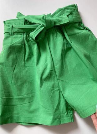 Літні шорти з поясом
