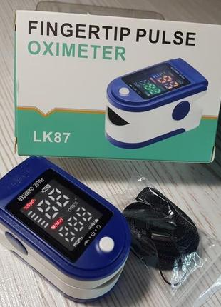 Пульсометр пульсоксиметр уровень кислорода cатурация lk - 871 фото