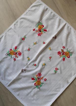 Чайная скатерть ручной работы hand made