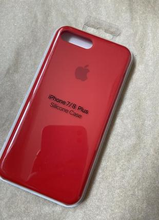 Чехол на iphone 7/8 plus. silicone case