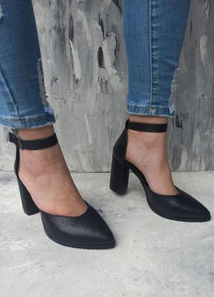 Босоножки на каблуке натуральная кожа замша2 фото