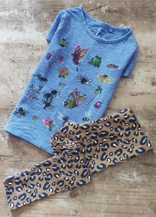 Набор: футболка + лосины