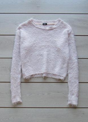 Укороченный свитер травка от f&f