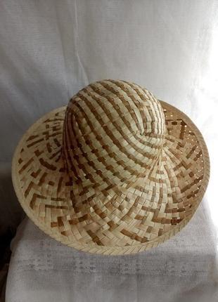 Шляпа женская соломенная размер 58/l