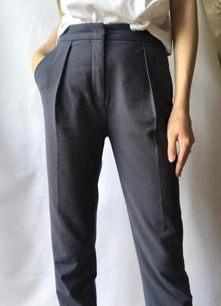 Идеальные брюки на высокой посадке