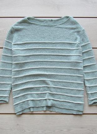 Джемпер свитер в полоску