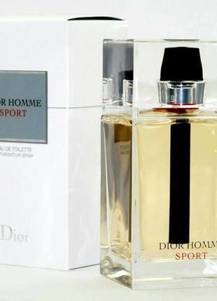 Christian dior dior homme sport оригинал_eau de toilette 3 мл затест распив отливанты