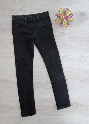 Лосины-джинсы черные на девочку, 140 см. here&there