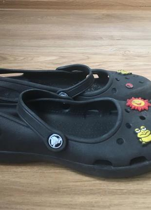 Кроксы crocs w8