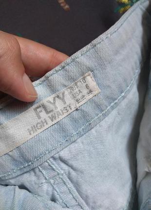 Шорты джинсовые мом в голубом дениме factorie ☀️ 42р3 фото