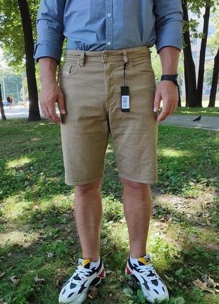 Джинсовые мужские шорты diesel. оригинал. size 32