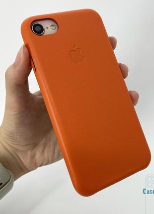 Кожаный чехол iphone 7 8 se 2020 айфон