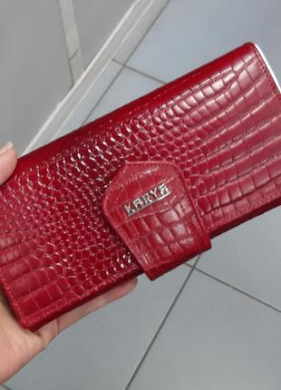 Женский кожаный кошелек karya 1098