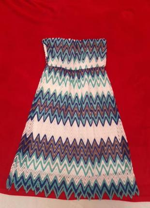 Плаття голубеньке