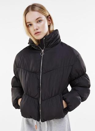 Стёганная куртка bershka
