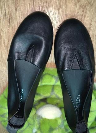 Туфли балетки 38 размер натуральная кожа