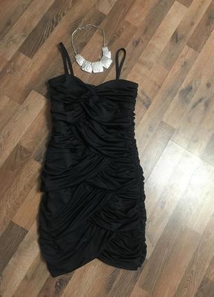 Короткое платье на бретельках h&m