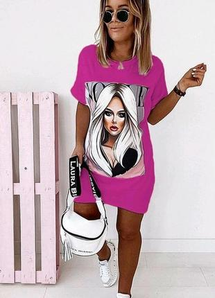 Плаття-футболка, туніка