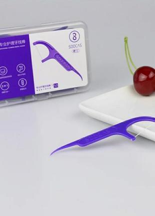 Зубная нить xiaomi mi soocas floss pick
