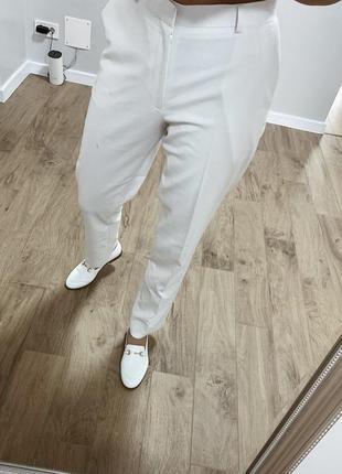 Белые брюки cos / брючные штаны/ штаны классические