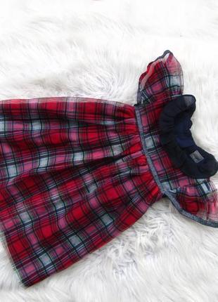 Стильное нарядное платье сарафан next