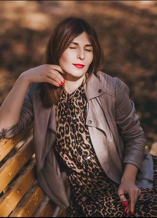 Продам леопардовое макси платье 🐆